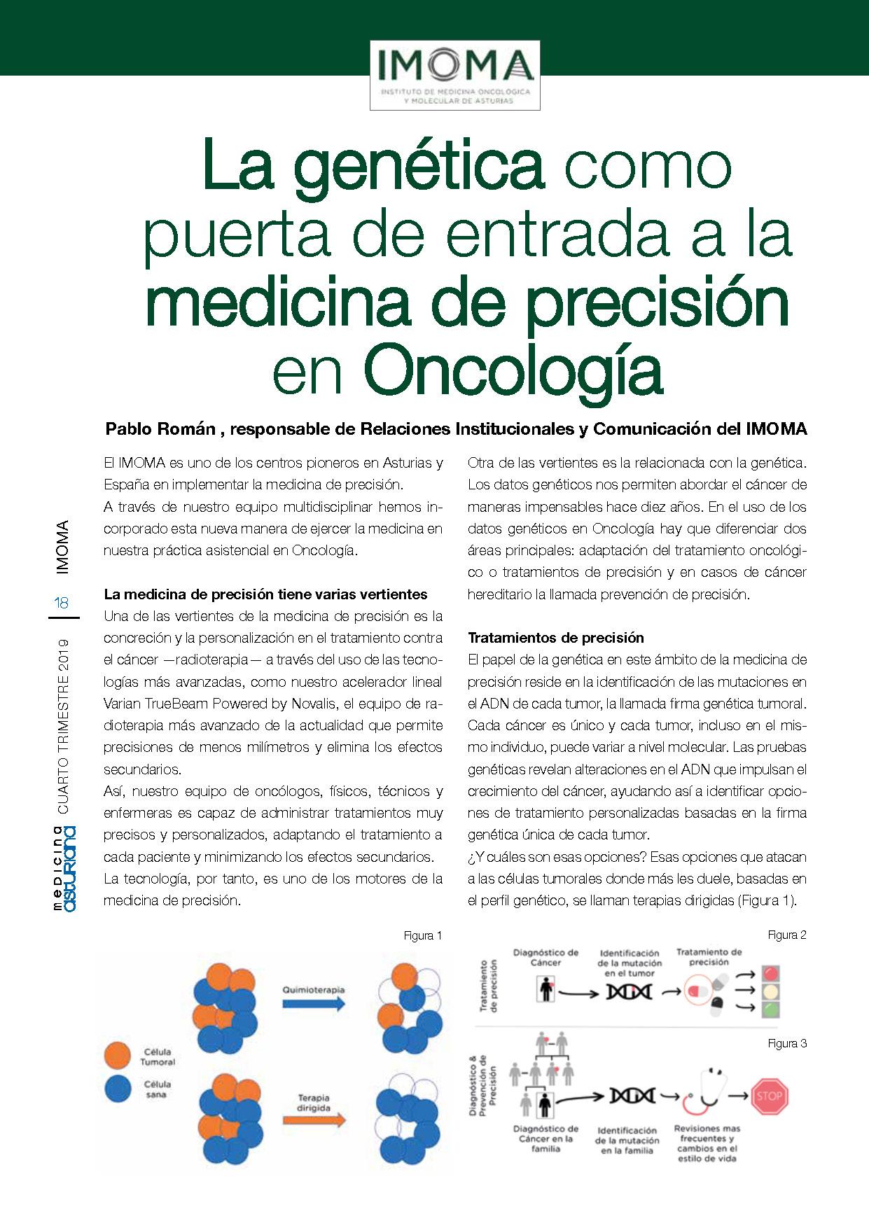 IMOMA en el número 40 de Medicina Asturiana