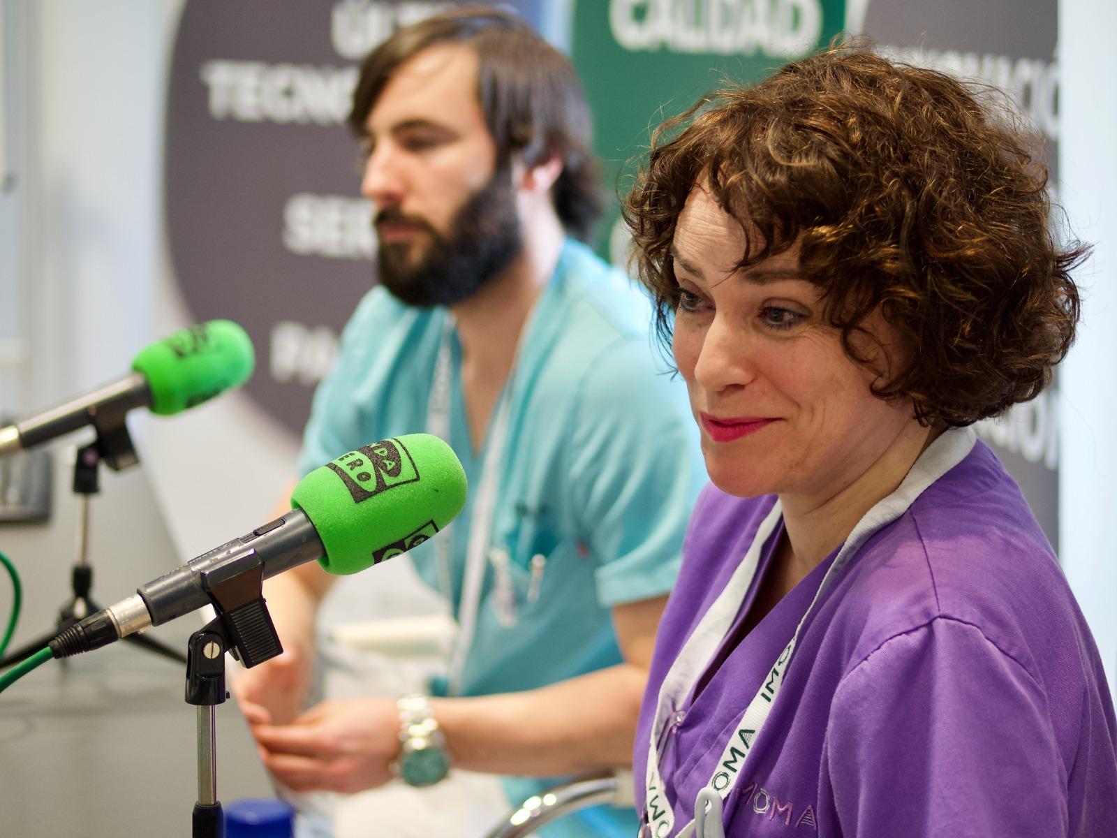 IMOMA en la Radio: la cara humana de los tratamientos para el cáncer