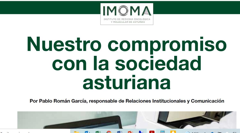 El IMOMA en el número 45 de Medicina Asturiana